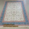 4'x6' الإسلام الصلاة سجادة الحرير الكشميري كليم