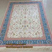 4'x6' Islam Prayer Carpet Kashmiri Silk Rug
