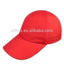 2015 good custom design laser cutting golf cap