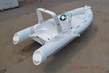 2015 mercury engine fiberglass inflatable boat with trailer