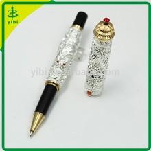 JD-LO74 Silver ball pen engraving logo pen luxury gift pen