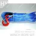 12mm red hook auto grey aplicação e fonte de energia elétrica da corda do guincho