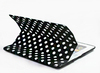 Polka Dot pattern Super Slim PU Smart Cover Front with Hard Rubberized Back Case for Apple ipad Air 2 / ipad 6