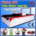 Escaneo automático de corte por láser abrigos y chaquetas deportivas