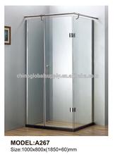 tempered glass sliding door shower enclosure room for house designs