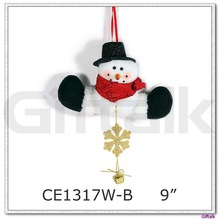 snowman design christmas ornament crafts