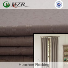 2014 top selling window location 100% polyester jacquard blackout fabric curtain