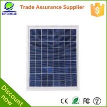 global high efficiency 5 watt with micro USB Poly crystal silicon solar module