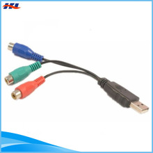 female usb to rca cable