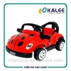Kids Toy Electric RC Car Lady Bug Shape Ride On RC Car