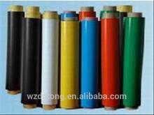 flexible rubber coated color pvc fridge magnet roll