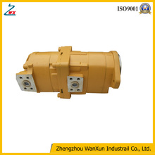 Factory!! High pressure oil rotary OEM hydraulic gear pump: 705-52-30A00 for bulldozer D155A-6.