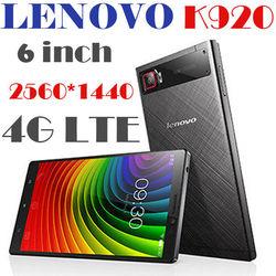 Lenovo's latest products Lenovo VIBE Z2 Pro K920 4G LTE Mobile Phone Snapdragon 801 Quad Core 2.5GHz 6.0 inch 2560x1440 3GB 32G