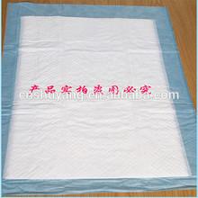 Thin disposable nursing pad with blue PE film