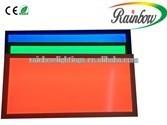 new design LED lamp RGB color ooi solar panel production line RGB-25Wled panel light