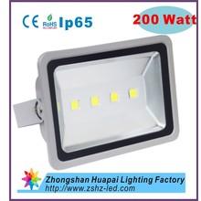 200w led flood light from Zhongshan lighting factory