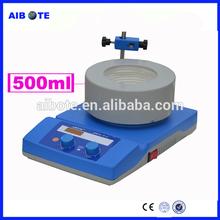 500 ml de fondo redondo de laboratorio capa de la calefacción