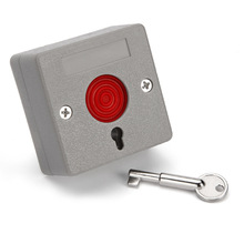 ABS housing White or Grey outdoor indoor panic button with Key