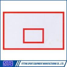 Outdoor basketball backboard for training