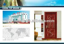 Popular sale internal moulded door skin manufacturer
