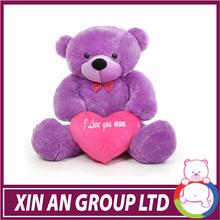 EN71/ASTM New design plush teddy bear for valentine's day