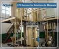 Desorcion sistema de electrólisis/mina de oro de la máquina separadora