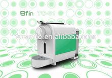 Mini type home use colorful ABS material espresso capsule coffee machine