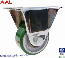Stem Swivel PU Caster Wheel,Fixed PU Caster Wheel, PU Caster Wheel