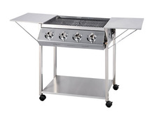 4Burner Flat Top Barbecue Grill With CE approval