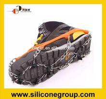 común tamaño de hielo de silicona crampones