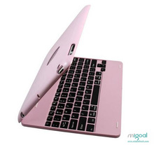 wireless bluetooth ultra thin keyboard cover and power bank for iPad 3/4