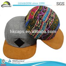 OEM/ODM Wholesale Wool Hats,Custom Hand Made Hat 5 Panel