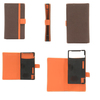 Hot sell smart mobile PU leather universal custom flip cover phone case