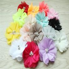 Pearl rhinestone flower clip /hair accessories for brides/garment accessory