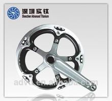 Titanium Casting Bicycle Crank set,Titanium Bicycle Chainwheel
