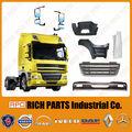 Europeo de camiones partes del cuerpo para camiones de parachoques, camión espejo hecho en taiwán lf/cf/xf95/xf 105 daf camiones partes del cuerpo