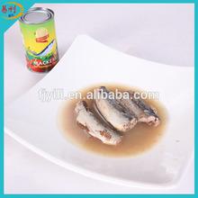 Spec. Scomber japonicus 24x425G Canned Mackerel In Brine Price