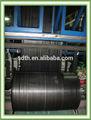 Agrícola de plástico preto de cobertura do solo/pp geotêxtil tecido/tecido pp tampa de plástico