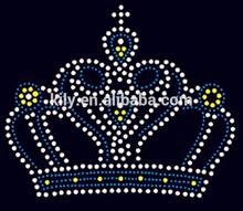 Wholesale crown rhinestone hot fix motifs