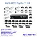 Preço competitivo! Câmeras de visão noturna day kit, All in one kits! 960 H 16ch HD dvr, Digital kits de câmera de segurança