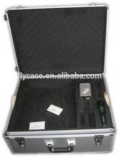 instrument aluminum suitcase aluminum tool case with foam padding