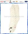 bianco cane maglia antiscivolo calze animale per le ragazze