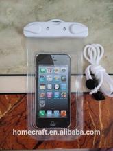 PVC Celular Phone Waterproof Case Pouch Bag