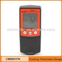 Digital Coating Thickness Gauge meter Fe/NFe 2 in 1