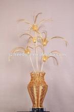 2015 new product Decoration aluminum flower vase home goods floor lamp