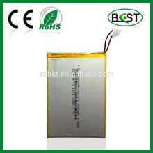 Lithium polymer battery 3.7V 2500mAh