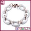 fashion popular ceramic love radium bracelets for man