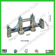 3D Puzzle Buildings as Eiffel Tower,Big Ben