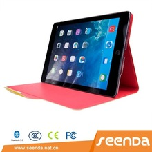 Seenda New arrival Yellow Detachable Keyboard Case for iPad Air 2