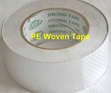 Double sided PE coated weave tape with cheap price